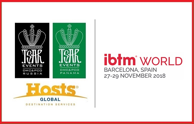 Meet Tsar Events PANAMA DMC & PCO, a Hosts Global Member during IBTM World in Barcelona, Spain (booth B96 & B97)