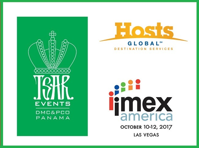 Meet Tsar Events PANAMA DMC & PCO, HOSTS Global Member at IMEX America 2017, Stand #B1220